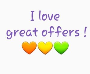 I accept reasonable offers 💚